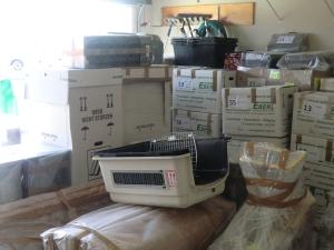 Die Garage ist jetzt mal voll
